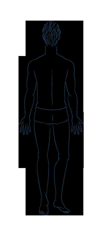 anatomia Uomo Retro